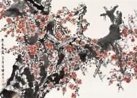 半天朱霞 镜片 设色纸本 - 方济众 - 中国书画 - 2010秋季艺术品拍卖会 -收藏网