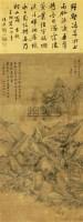 山水 立轴 纸本 - 王鉴 - 中国书画 - 2010秋季艺术品拍卖会 -收藏网