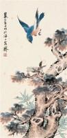 花鸟 立轴 设色纸本 - 江寒汀 - 中国近现代书画(二) - 2010秋季艺术品拍卖会 -中国收藏网