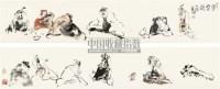 晋贤图 长卷 设色纸本 - 李世南 - 中国书画(一) - 2010年秋季艺术品拍卖会 -收藏网