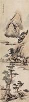 山水 立轴 设色纸本 - 张赐宁 - 中国书画专场 - 2010年秋季艺术品拍卖会 -收藏网
