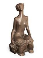 朴吉友 2000年作 花神 铜 雕塑 - 153878 - (西画)当代艺术专题 - 2006年秋季精品拍卖会 -收藏网
