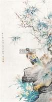 花鸟 立轴 纸本 - 颜伯龙 - 中国书画 - 2010年秋季书画专场拍卖会 -收藏网