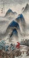 写高房山意 镜心 设色纸本 - 116759 - 中国书画一 - 2010秋季艺术品拍卖会 -收藏网