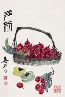 多利 镜心 设色纸本 - 娄师白 - 中国书画(一) - 2010年秋季艺术品拍卖会 -收藏网