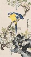 花鸟 立轴 纸本 - 江寒汀 - 中国书画(上) - 2010瑞秋艺术品拍卖会 -中国收藏网