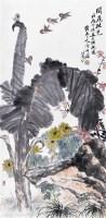 花鸟 纸本 立轴 - 张辛稼 - 中国书画(二)无底价专场 - 天目迎春 -收藏网