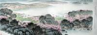 宋文治 洞庭清晓 硬片 - 5002 - 中国书画、油画 - 2006艺术精品拍卖会 -收藏网