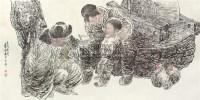 """农家乐 镜片 设色纸本 - 王有政 - 中国书画 - 2010""""清花岁月""""冬季大型艺术品拍卖会 -收藏网"""
