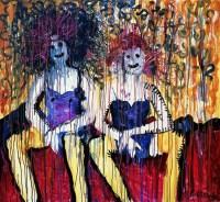 林国成 女孩你好 - 林国成 - 名家西画 当代艺术专场 - 2008年秋季艺术品拍卖会 -收藏网