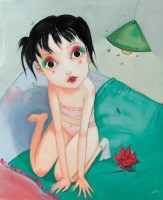 小朵儿 -  - 油画 - 2010年秋季拍卖会 -收藏网