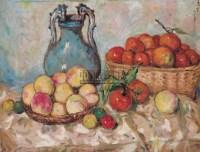 太湖鲜果 织维板  油画 - 胡善余 - 华人西画 - 2006年度大型经典艺术品拍卖会 -收藏网