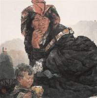 岁月的思绪 镜心 设色纸本 - 南海岩 - 中国书画 - 第54期书画精品拍卖会 -收藏网