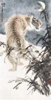 朔风 立轴 纸本设色 - 冯大中 - 中国当代书画 - 2010秋季艺术品拍卖会 -收藏网