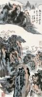 山水 立轴 设色纸本 - 116006 - 中国书画三 - 2010秋季艺术品拍卖会 -收藏网