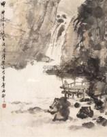 山水 镜心 设色纸本 - 116002 - 中国书画(一) - 2006春季拍卖会 -收藏网