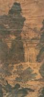 山水 立轴 绢本 - 仇英 - 中国书画(上) - 2010瑞秋艺术品拍卖会 -收藏网