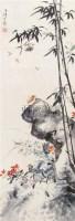 花卉草虫 立轴 设色纸本 - 116837 - 中国书画 - 第9期中国艺术品拍卖会 -收藏网
