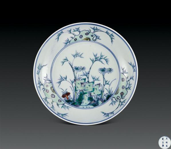 山水 设色纸轴 - 5002 - 瓷器杂项 - 2006年夏季拍卖会 -中国收藏网