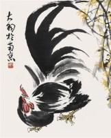 大吉图 立轴 纸本 - 陈大羽 - 中国书画(下) - 2010瑞秋艺术品拍卖会 -收藏网