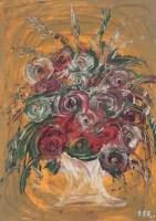 花卉 油画 画框 - 140360 - 名家书画·油画专场 - 2006夏季书画艺术品拍卖会 -收藏网