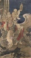人物 立轴 纸本 - 丁观鹏 - 文物公司旧藏暨海外回流 - 2010秋季艺术品拍卖会 -收藏网