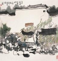二月春风似剪刀 立轴 设色纸本 - 杨延文 - 中国书画 - 第54期书画精品拍卖会 -收藏网