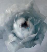 玫瑰NO.5 油彩 画布 - 罗发辉 - 油画专场  - 2010秋季艺术品拍卖会 -收藏网