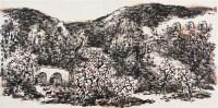 陕北金秋 镜心 设色纸本 - 赵振川 - 中国书画 - 2010秋季艺术品拍卖会 -中国收藏网