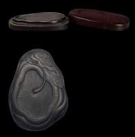 清•製靈芝端硯 -  - 文房清玩 历代名砚专场 - 2008年春季拍卖会 -收藏网