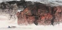 赤壁图 镜片 纸本 - 程大利 - 中国书画(下) - 2010瑞秋艺术品拍卖会 -收藏网