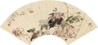 花卉 扇面 纸本 - 116837 - 扇面小品 - 2010秋季艺术品拍卖会 -收藏网