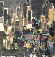 曼哈顿之晨 - 119126 - 2010上海宏大秋季中国书画拍卖会 - 2010上海宏大秋季中国书画拍卖会 -收藏网