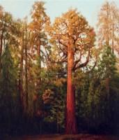 屹立千秋 布面油画 - 王路 - 中国油画  - 2010年秋季艺术品拍卖会 -收藏网