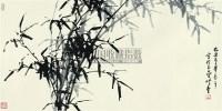 风篁曳影 镜片 水墨纸本 - 董寿平 - 中国近现代书画(二) - 2010秋季艺术品拍卖会 -收藏网