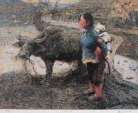 罗中立 2005年作 冬水田 4/99 - 罗中立 - 西画雕塑(下) - 2006夏季大型艺术品拍卖会 -收藏网