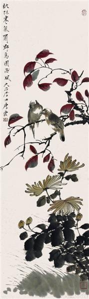 雀图 - 117343 - 2010上海宏大秋季中国书画拍卖会 - 2010上海宏大秋季中国书画拍卖会 -收藏网