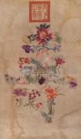百花祝寿绣片 -  - 中国书画 - 第9期中国艺术品拍卖会 -收藏网