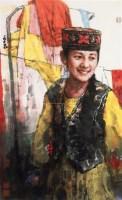 春驿娇艳 镜心 设色纸本 - 南海岩 - 中国书画(一) - 2010年秋季艺术品拍卖会 -收藏网