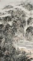 杨云鹤 风泉倾听图 硬片 - 杨云鹤 - 中国书画、油画 - 2006艺术精品拍卖会 -收藏网