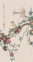 工笔花鸟 立轴 纸本 - 于非闇 - 中国书画(下) - 2010瑞秋艺术品拍卖会 -收藏网