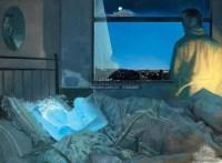 夜 布面油画 - 何净 - 中国油画  - 2010年秋季艺术品拍卖会 -收藏网