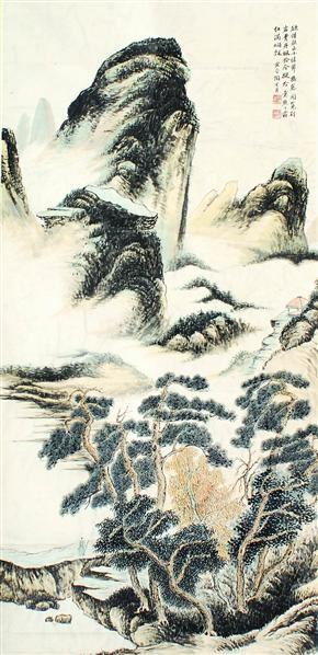 陶冷月 山水 - 135766 - 中国书画  - 上海青莲阁第一百四十五届书画专场拍卖会 -收藏网