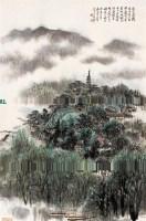吴一峰 1983年作 西湖春色图 -  - 近现代名家作品(二)专场 - 2005秋季大型艺术品拍卖会 -收藏网