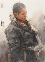 藏童 镜心 设色纸本 - 南海岩 - 中国书画(二) - 2006春季拍卖会 -收藏网