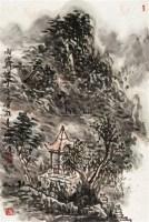 雨霁 镜片 设色纸本 -  - 中国书画(二) - 2010年秋季艺术品拍卖会 -收藏网