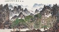 幽谷回春 镜框 设色纸本 - 陈国勇 - 中国书画(二) - 2010年秋季艺术品拍卖会 -收藏网