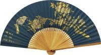花鸟 成扇 纸本 - 田世光 - 扇面小品 - 2010秋季艺术品拍卖会 -收藏网