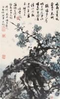 绿梅 镜心 设色纸本 - 舒传曦 - 当代书画 - 2006夏季书画艺术品拍卖会 -中国收藏网