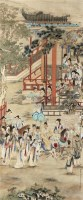 人物 立轴 纸本 - 徐操 - 文物公司旧藏暨海外回流 - 2010秋季艺术品拍卖会 -收藏网